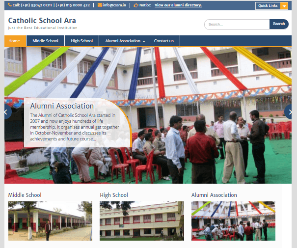 Catholic School Ara
