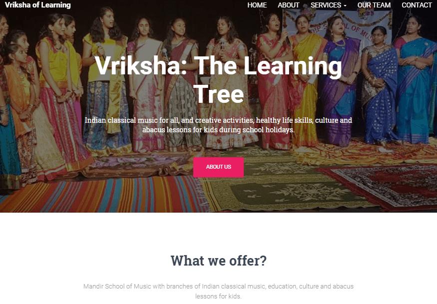 Vriksha 'The Learning Tree'