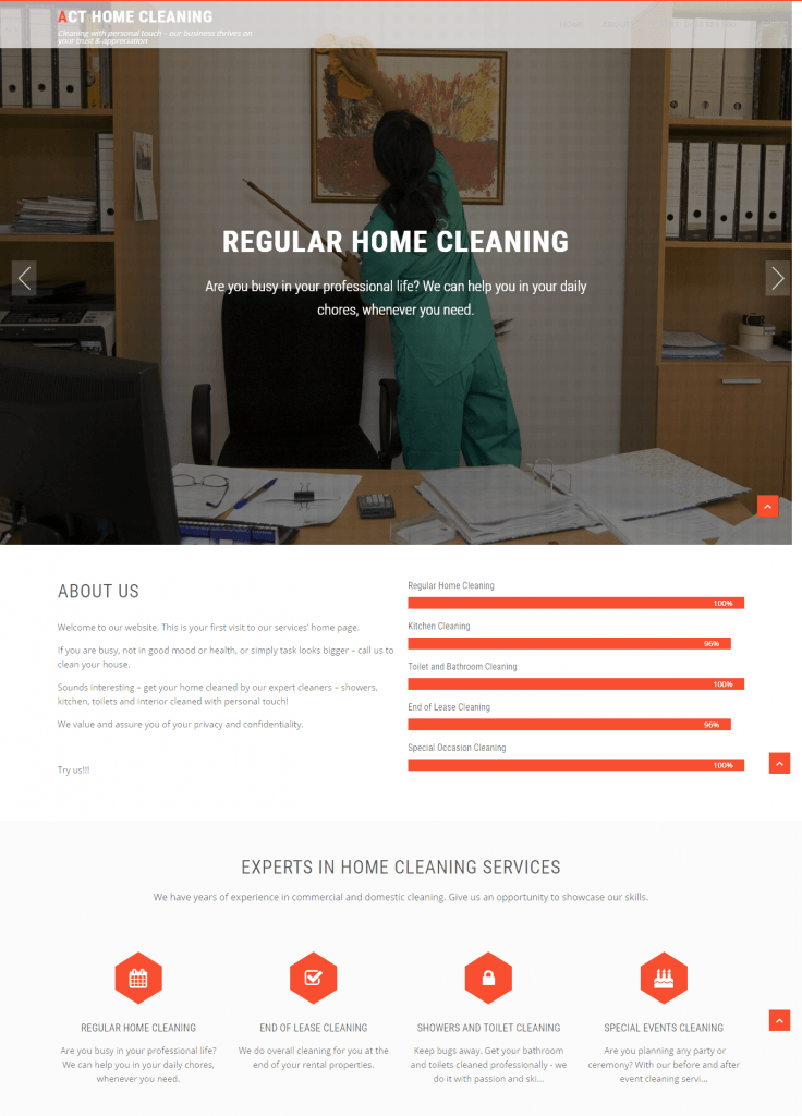 ACT Home Cleaning